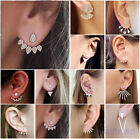 1 Pair Women Lady Elegant Crystal Rhinestone Ear Stud Earrings Charms Jewelry