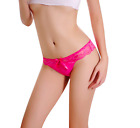 WOMENS LACE KNICKERS SEXY THONGS UNDERWEAR G-STRING  PANTIES LACE LINGERIE