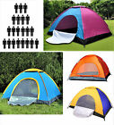 3 / 4 / 6 / 8 Camping Tent Waterproof Room Outdoor Hiking Backpack Fishing New