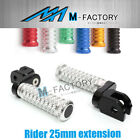 M-Grip Billet Front Riser Extender Footpegs Fit Yamaha XSR 900 16-17