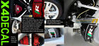 Brake Caliper Decal stickers fits Jaguar XKR Supercharged  SET Green Red Black R