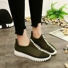 Fashion Womens Breathable Trainers Casual  Comfortable Sport Running Shoes New