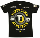 Throwdown Origin T-Shirt (Black/Yellow)