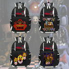 New Five Nights at Freddy's 2 Backpack Knapsack Black Packsack School Otaku Bags