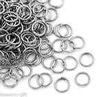 Wholesale Lots Gift  Jump Rings Jewelry Making Findings Silver Tone 6x0.7mm