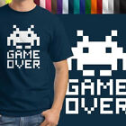 Space Invader Game Over Retro Mens Tee 100% Cotton Unisex Crew Neck T-Shirt