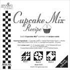 Quilt Pattern ~ CUPCAKE RECIPE CARDS ~ by Miss Rosie's ~ Choose from 4 Sets