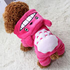Small Pet Dog Clothes Costume Hoodies Puppy Cat Sweater Coat Winter Warm Apparel