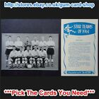 ☆ D.C. Thomson Star Teams of 1961 (G) *Please Select Card*