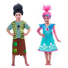 Christys Dress Up Official Trolls Film Childs Branch OR Poppy Fancy Dress Outfit