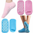 Pure Moisturising Silicone Soft Gel Socks Vitamin Foot Care Spa Yoga One Size UK