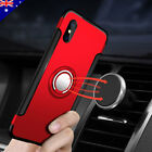 iPhone X 8 7 6s Plus Case Aluminum Metal 360° Ring Holder Stand Cover for Apple