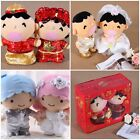 SANRIO MINA NO TABO TWIN STAR WEDDING PLUSH DOLL COUPLE GIFT BOX (WEST/CHINESE)