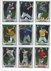 2014  BOWMAN PROSPECTS - RC'S 1st cards - PAPER or CHROME - WHO DO YOU NEED!!!