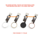 OEM Home Button Key Flex Cable Replacement For Apple iPhone 7 / iPhone 7 Plus