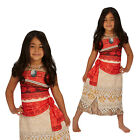 Rubies Official Disney Classic Moana Girls Hawaiian Princess Fancy Dress Costume