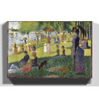Premium Canvas Print Multi Size Georges-Pierre Seurat Sunday on La Grande Jatte