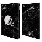 OFFICIAL NFL 2017/18 CLEVELAND BROWNS LEATHER BOOK WALLET CASE FOR APPLE iPAD