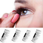 3D Magnet Fake Eyelashes Magnetic Buckle for eye make up(1 pair 4 pcs)