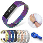 Replacement Wristband Sport Watch Band Stainless Steel For Fitbit Alta / Alta HR