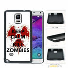 Keep Calm and Kill Zombies - Galaxy Note 2 3 4 5 Case Cover