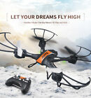RC 2.4Ghz 4CH 6 Axis Flying Drone Toy Gyro Remote Control LED Lights Quadcopter