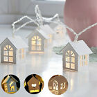 XMAS 10 LED Bulbs HOME String Battery Operated Wire Fairy Lights PARTY DECOR NEW
