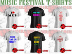MUSIC FESTIVAL FUN T-SHIRTS