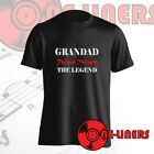 GRANDAD THE LEGEND T-SHIRT. MOST POPULAR DESIGN