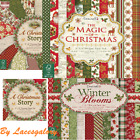 Dovecraft First Edition 8x8 Paper Pad - A Christmas Story - Scrapbooking Cards