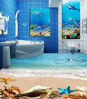 3D Conch Beach 4096 Floor WallPaper Murals Wallpaper Mural Print AJ AU Lemon