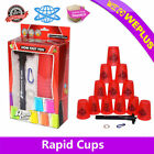 12 xNew Speed Stacks Cups With Pull Rod Matching Grade Sport Stacking Cups set