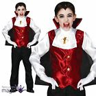Childs Victorian Dracula Vampire Count Cape Halloween Fancy Dress Costume Outfit