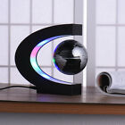 Magnetic Maglev Levitation World Map Light Decor  Floating 8 LED/C Shape Globe