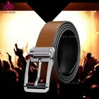 Men's Pin Metal Buckle Belt  New Leather Jeans Belt Casual Waist Strap Waistband