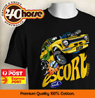 KIDS Ford Shirt - MK1 Escort Yellow (Black or White)