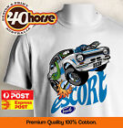 YOUTH Ford Shirt - MK1 Escort White (Black or White)