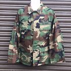 PROPPER US ARMY SURPLUS RIPSTOP WOODLAND CAMO COMBAT JACKET,MARSOC NAVY SEALS