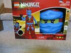Costume Lego Ninjago Ninja Red Blue Girl toy small New Box Mask gloves cape 4-6