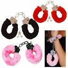 Soft Fur Handcuffs Fluffy Party Sexy Adult Police Role Play Night Toy