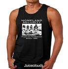 Native American Tank Top Homeland Security Fighting Terrorism Indian Men's Shirt