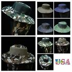 Bucket Hat Hunting Fishing Military Mesh Hats Brim Army Cap Neck Cover Unisex