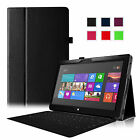"""For Microsoft Surface 2 Case Surface RT 10.6"""" Case Folio Leather Stand Cover"""