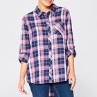NEW Lily Loves Flannelette Check Shirt