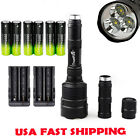 3*XML-T6 CREE LED 18650 Battery 5MODE 48000LM Flashlight Tactical Camping Lamp b