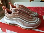 NIKE AIR MAX 97 ULTRA '17 WOMEN'S SHOE - Metallic Rose Gold/Gum Light Brown/