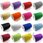 "Wholesale 20 Rolls 6"" Wide x 25/100 Yards Tutu Tulle Soft Nylon Netting Fabric"