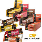 CNP Professional Pro Flapjacks High Protein Oat Snack Bar Low Sugar 24 Bars