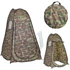 Outdoor Portable U shape Camp Tent Dressing Changing Room Privacy Window Tool