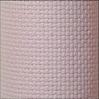 AIDA CROSS STITCH FABRIC 11, 14  COUNTS   ~PINK COLOR~ 100% cotton